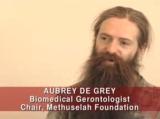 Aubrey de Grey at the Minx Mandate